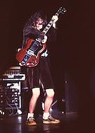 AC/DC 1980's - Angus Young..© Chris Walter..