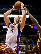 NBA: Cleveland Cavaliers at Phoenix Suns//20121109