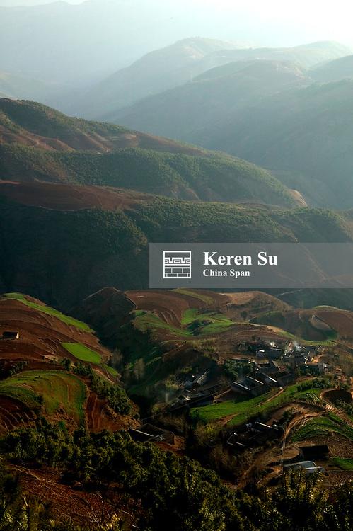 Red soil land, North Yunnan, China