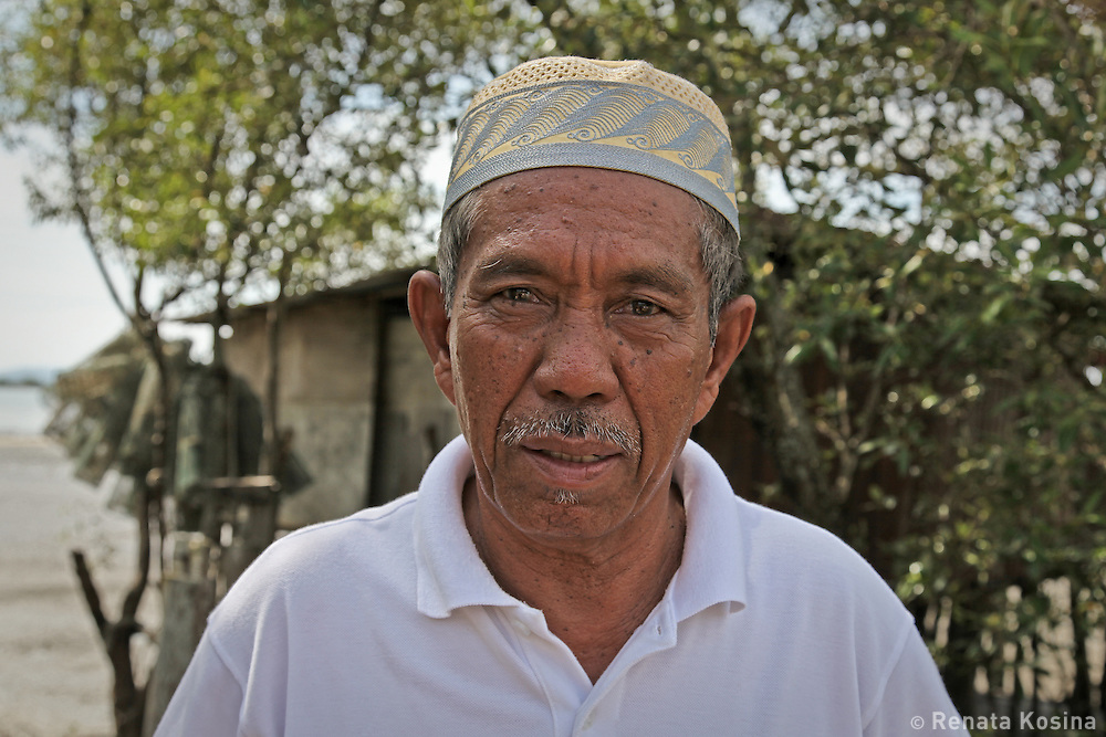 Portrait of a local man on the island of Langkawi, Malaysia