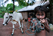 A farm girl hopes to be going to 'Stepping Stones' school next year in Siem Reap, Cambodia.