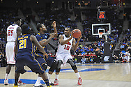 Ole Miss' LaDarius White (10) vs. La Salle in the Round of 32 of the NCAA Tournament at the Sprint Center in Kansas City, Mo. on Sunday, March 24, 2013.