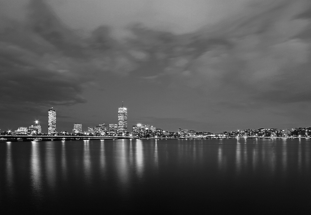 Photo prints, canvas prints, metal prints, framed prints, matted prints, print only at <br /> <br /> http://juergen-roth.pixels.com/featured/1-boston-charles-river-skyline-juergen-roth.html