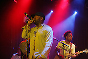 l to r: Black Thought(ROOTS) and Captain Kurt(ROOTS) at The ROOTS Present the Jam Produced by Jill Newman Productions on March 19, 2009 held at Highline Ballroom in New York City.