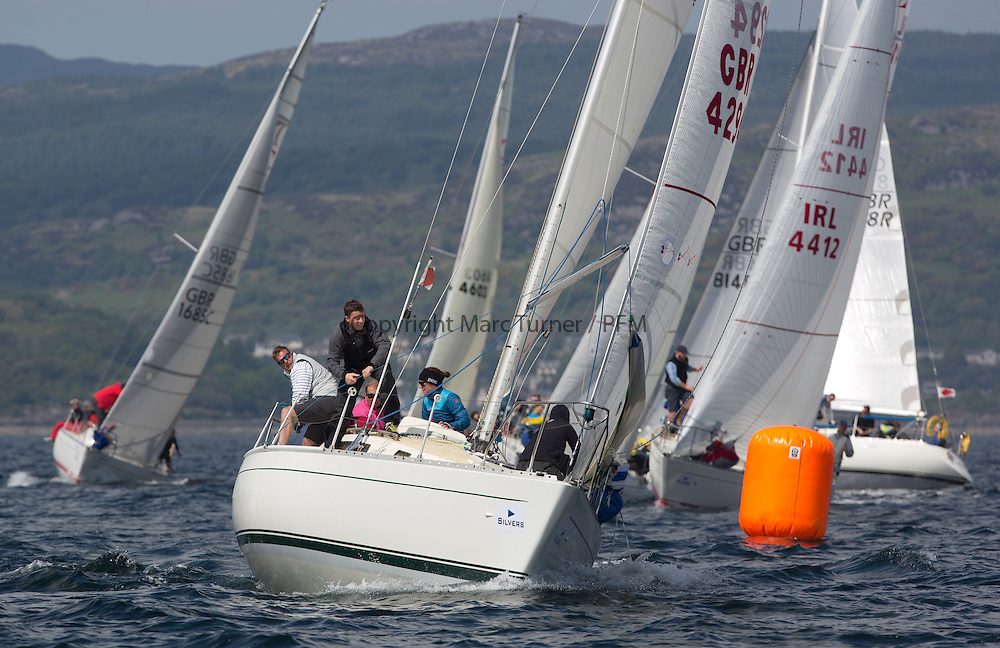 Day three of the Silvers Marine Scottish Series 2016, the largest sailing event in Scotland organised by the  Clyde Cruising Club<br /> Racing on Loch Fyne from 27th-30th May 2016<br /> <br /> K4294, Odyssey II, Harold Hood, RNCYC <br /> <br /> <br /> Credit : Marc Turner / CCC<br /> For further information contact<br /> Iain Hurrel<br /> Mobile : 07766 116451<br /> Email : info@marine.blast.com<br /> <br /> For a full list of Silvers Marine Scottish Series sponsors visit http://www.clyde.org/scottish-series/sponsors/