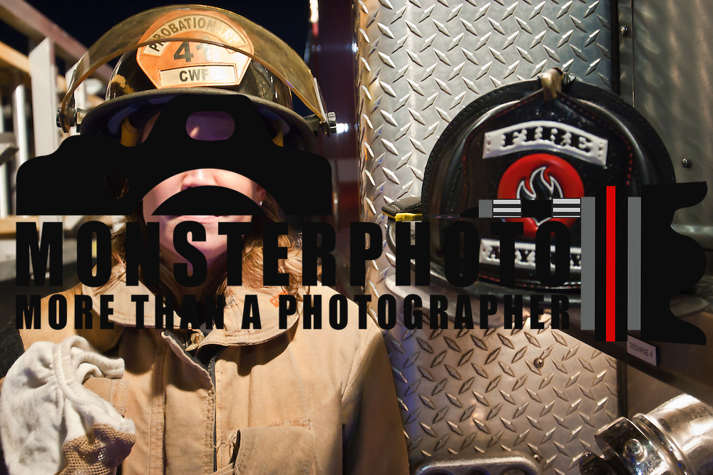 Portrait of one of the worlds bravest Camden-Wyoming Fire fighter Michelle Small Wednesday, July 6, 2011, in Camden-Wyoming Delaware.