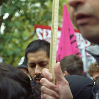 Protesters in Hyde Park against the invasion of Iraq.