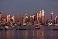 Hudson river cityscape NYJ111A