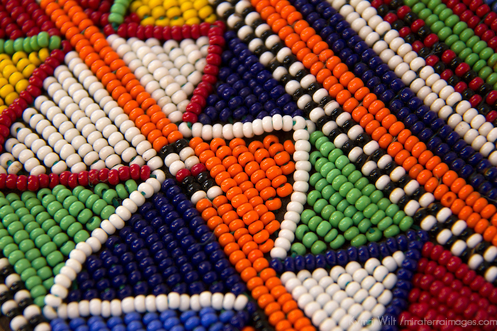 Africa, Kenya. Maasai Tribal Beads.
