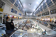 Dubai Airport is filled with mega stores, shopping options and souvenir stands.<br />
