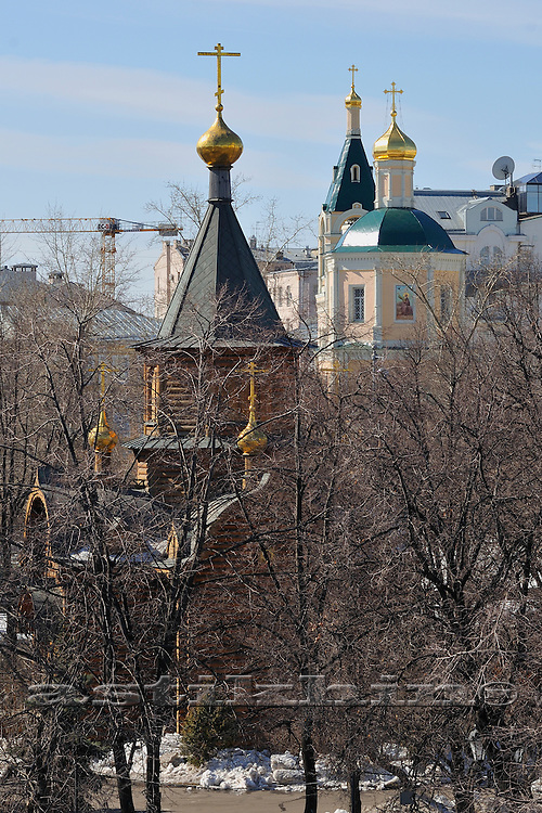 Russian Orthodox Church in Moscow.