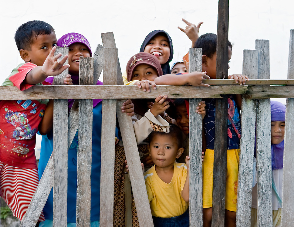 Children in Luwuk, Central Sulawesi