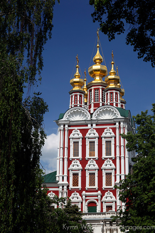 Europe, Russia, Moscow. Novodevichy Convent.