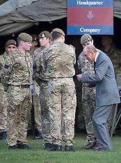 FEB 24 2014 HRH Duke of Edinburgh with The Grenadier Guards