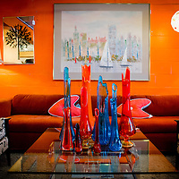 ORLANDO, FL -- Antiques and mid century modern furniture sit for sale at 1618 Something Different Retro in Orlando, Florida.  (PHOTO / Chip Litherland)
