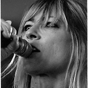 Sonic Youth performs at the 2003 Bonnaroo Music Festival in Manchester, Tennessee.<br /> Photo by Bryan Rinnert/3Sight Photography