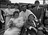 1981 - Historic Wedding Bells For Disabled Couple.    (N81).