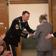 ROTC Commissioning Ceremony. (Gonzaga Photo)