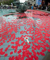 NOV 11 2013 Armistice Day- two minute silence