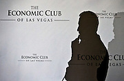 Democratic presidential candidate Martin O'Malley ponders a response to a question during and event at The Economic Club of Las Vegas in Caesars Palace on Thursday, January 7, 2016.  L.E. Baskow