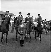 1960 - Dublin Horse Show at the R.D.S.