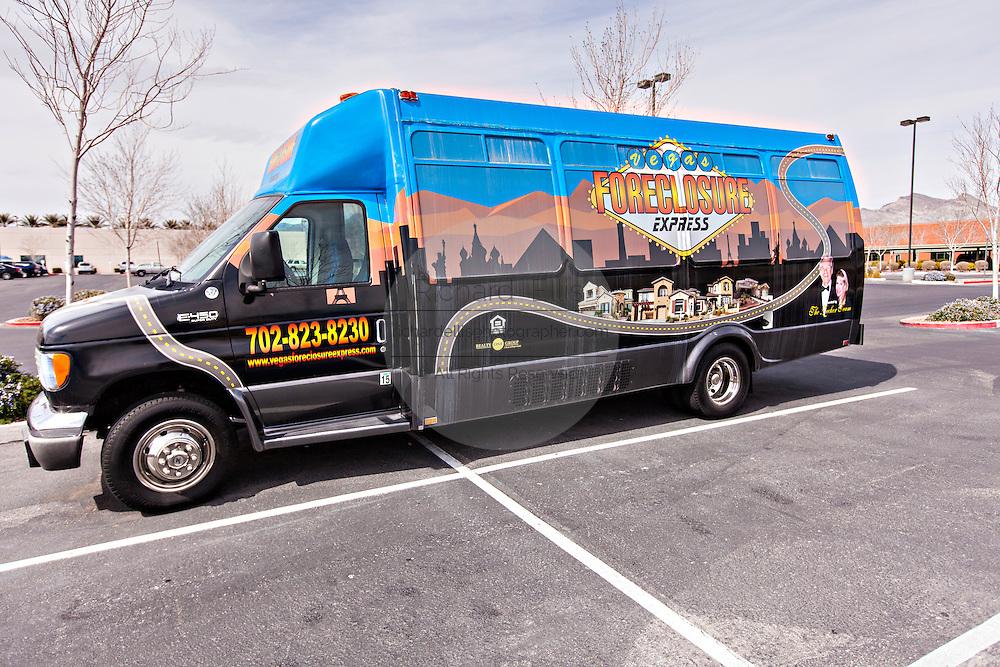 Foreclosure Express real estate tour in Las Vegas, NV.
