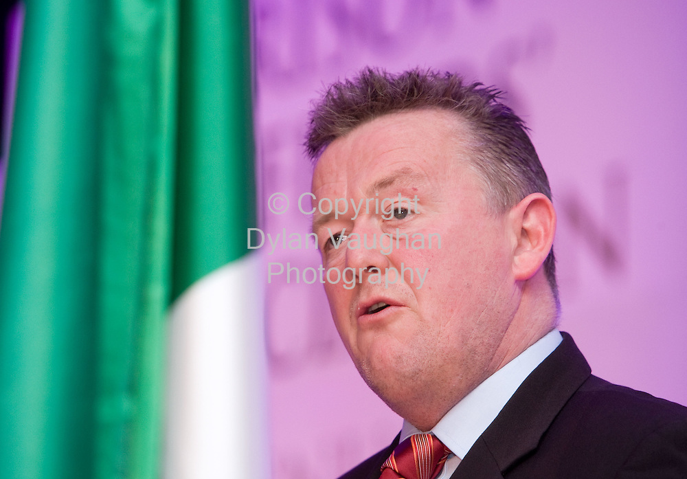 1/5/2008.Pictured at the Prison Officers Association annual conference at the Lyrath Estate Hotel in Kilkenny yesterday was Assistant General Secretary, Stephen Delaney..Picture Dylan Vaughan