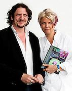 Food critic Jay Rayner with Silvena Rowe - Taste of London 2010