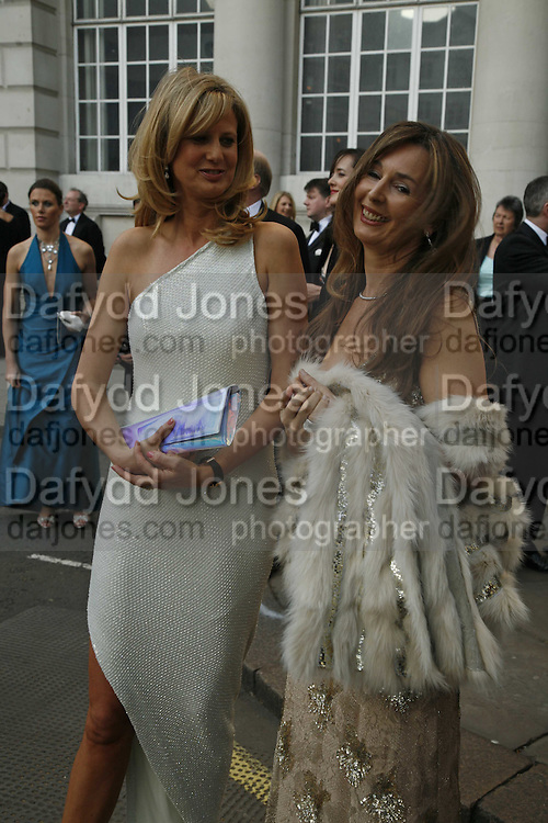 Mrs. Ian Wace and Carmel Scott, Ark Gala Dinner, Marlborough House, London. 5 May 2006. ONE TIME USE ONLY - DO NOT ARCHIVE  © Copyright Photograph by Dafydd Jones 66 Stockwell Park Rd. London SW9 0DA Tel 020 7733 0108 www.dafjones.com