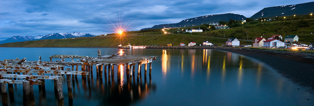 The old harbour in Hjalteyri, Iceland