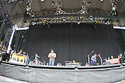 June 17, 2006; Manchester, TN.  2006 Bonnaroo Music Festival..The Neville Brothers peforms at Bonnaroo 2006.  Photo by Bryan Rinnert