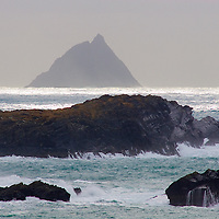 View on Skellig Michael from Valentia Island, County Kerry, Ireland / sk027 I love the Skelligs, ****** <br /> <br /> Visit &amp; browse through my Photography &amp; Art Gallery, located on the Wild Atlantic Way &amp; Skellig Ring between Waterville and Ballinskelligs (Skellig Coast R567), only 3 minutes from the main Ring of Kerry road.<br /> https://goo.gl/maps/syg6bd3KQtw<br /> <br /> ******<br /> <br /> Contact: 085 7803273 from an Irish mobile phone or +353 85 7803273 from an international mobile phone