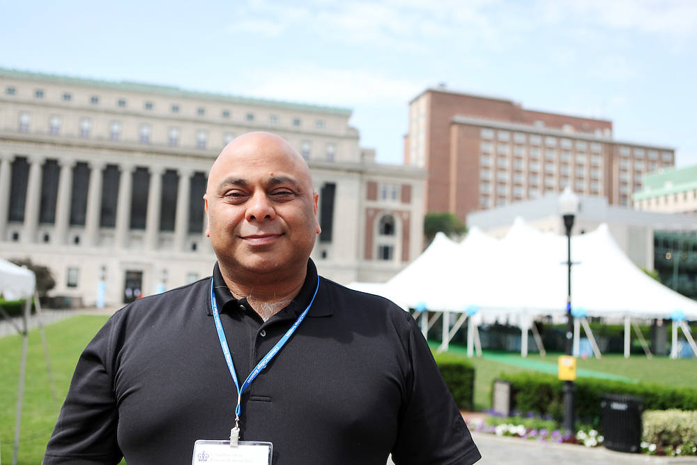 """Raj Seth '86..""""New York is a lot friendlier than outsiders think.""""..""""When you're at Columbia, get to know as many people as you can. That's the most important thing you can do in college."""""""