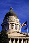 Image of the Utah State Capitol in Salt Lake City, Utah, American Southwest