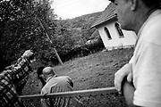 BiH, Mioca, 2009. Bosnian Muslims returned to the village Mioca near Rudo