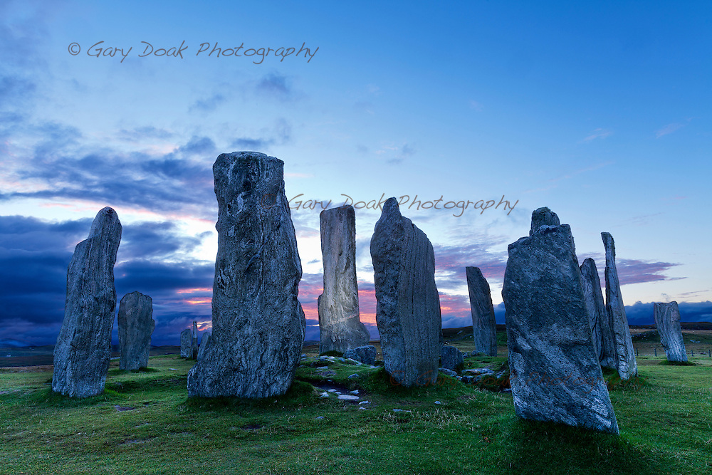 Callanish Standing Stones, Isle of Lewis. September 2015<br /> <br /> Photograph by Gary Doak