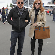 Bruce Springsteen and his wife Patti Scialfa at the Olympic Park London on June 9th where they watched their daughter Jessica compete in the Global Champions Tour.The couple celebrated their 22nd wedding anniversary on Saturday June 8th.