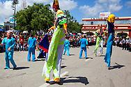 Parade in Holguin, Cuba.