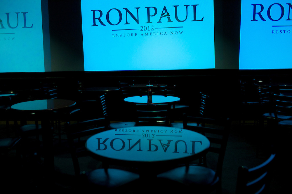 After a campaign stop by Republican presidential hopeful Ron Paul on Tuesday, August 2, 2011 in Davenport, IA.