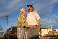 , residents of Laverton Caravan ParkFlo & Kris McDade, September 10 2006.