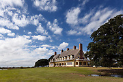 NC00695-00...NORTH CAROLINA - The Whalehead Club in the town of Corolla on the Outer Banks.
