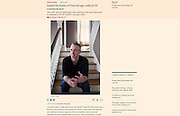 Financial Times (June 1, 2016): &quot;Inside the home of Dan Savage, radical US commentator&quot;<br /> <br /> Online: https://www.ft.com/content/c5e1929c-2328-11e6-9d4d-c11776a5124d