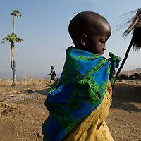 Young girl in Masoalikuka village in Malawi.