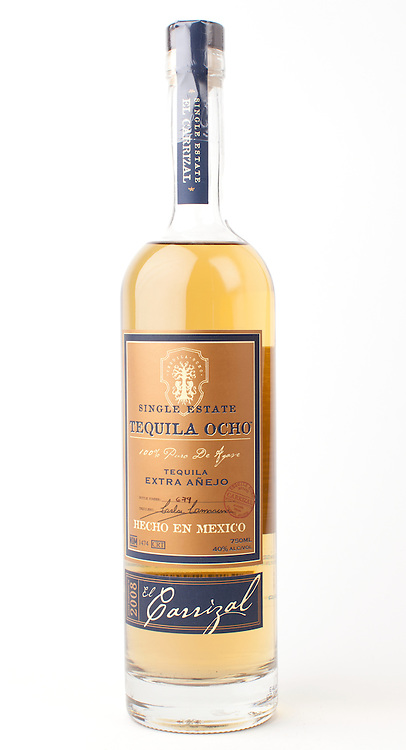Tequila Ocho Extra Anejo 2008 -- Image originally appeared in the Tequila Matchmaker: http://tequilamatchmaker.com