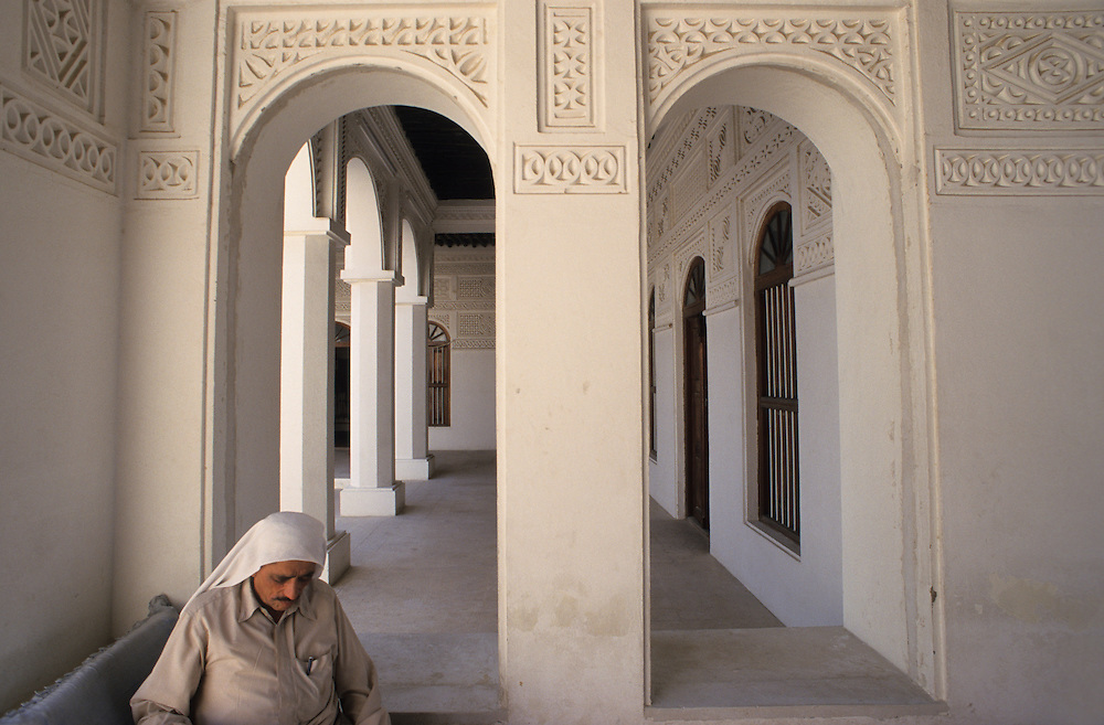 Qatar, Middle East, Asia, Doha, old house of the emir in the National Museum.