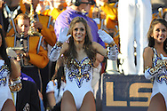 LSU Golden Girls dance at Tiger Stadium in Baton Rouge, La. on Saturday, November 17, 2012. LSU won 41-35.....