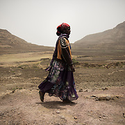 Maternal health educator Nigsty Samuel, 23, Adi Sibhat, Tigray, Ethiopia