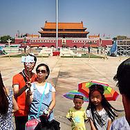 Tiananmen Square, Beijing, China on August 20, 2015.<br /> (Photo by Kuni Takahashi)