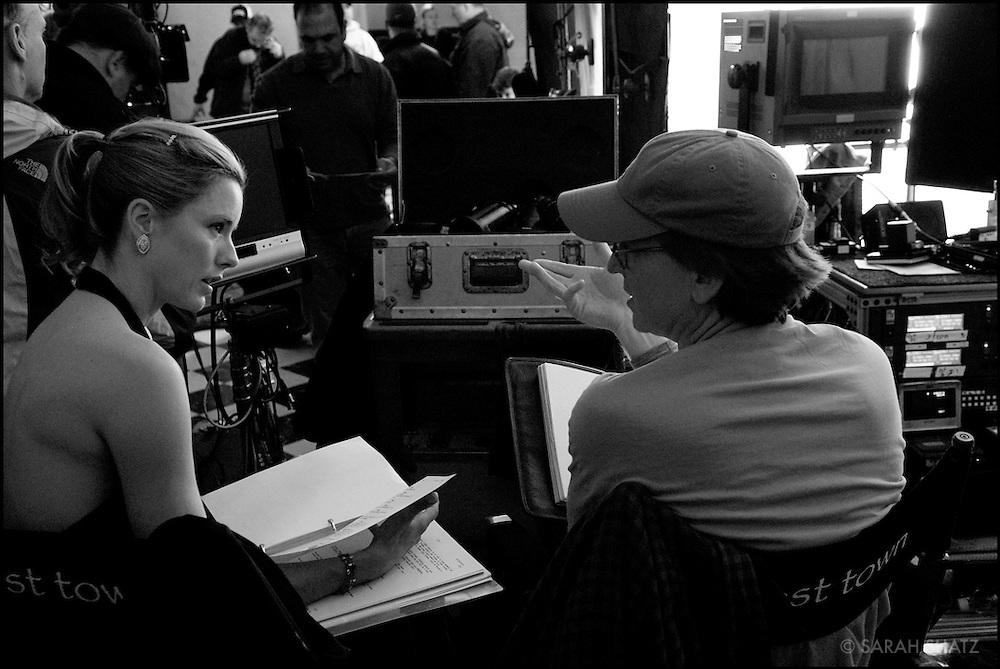 "On the set of ""Ghost Town"" (Dir: David Koepp, 2008)"