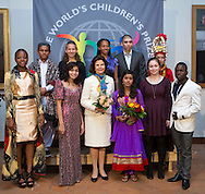 The Child Jury led the World&rsquo;s Children&rsquo;s Prize Ceremony 2015 was held at Gripsholms Castle in Mariefred, Sweden. Member of the jury are: Ndale Nyengela, from D. R. CongoNetta Alexandri, from IsraelHamoodi Elsalameen, from PalestineBrianna Audinett, from the USANuzhat Tabassum, from BangladeshEmelda Zamambo, from MozambiqueMae Segovia, from The PhilippinesKewal Ram, from PakistanManchala Darji, NepalEmma Mogus, CanadaJhonn Nara Gomes, BrazilPayal Jangid, IndiaPhoto: Sofia Marcetic/World's Children's Prize<br /> <br /> Since the year 2000, the World&rsquo;s Children&rsquo;s Prize program has educated and empowered over 38 million children. It&rsquo;s the world&rsquo;s largest annual educational initiative for equality, the rights of the child and democracy. The program is run annually in schools worldwide. Each year, three out&not;standing child rights heroes are selected by the Child Jury as candidates for the World&rsquo;s Children&rsquo;s Prize for the Rights of the Child.  The three candidates are then presented to the world&rsquo;s children through  the WCP magazine The Globe, video, web and social media. Tens of thousands of volunteers and organisations help to implement the WCP program every year, including at least 50,000 teachers and over a hundred organisations, social enterprises and departments of education. Over 67,000 schools in 113 countries have signed up for the WCP.<br />     The WCP program concludes with an annual Global Vote in which millions of children vote to elect their child rights hero of the Year. The majority of children who participate are vulnerable, such as former child soldiers and child slaves. Three global legends have got behind the WCP as patrons: Nelson Mandela, Aung San Suu Kyi, and Xanana Gusm&atilde;o. Other patrons include H.M. Queen Silvia of Sweden, Gra&ccedil;a Machel and Desmond Tutu.<br />    The WCP program was founded in the year 2000 and is run by Swedish non-profit the World&rsquo;s Children&rsquo;s Prize Foundation (WCPF). The WCPF receives funding from several bodies including the Swe